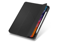 Husa Tableta TPU UNIQ Transforma Rigor New pentru Apple iPad Air (2020), Antimicrobial, CHARCOAL, Gri