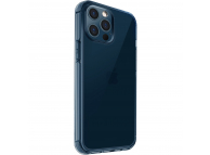 Husa TPU UNIQ Air Fender pentru Apple iPhone 12 Pro Max, Antimicrobial, NAUTICAL BLUE, Bleumarin