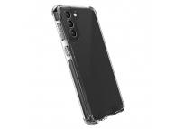 Husa Plastic - TPU UNIQ Combat Antisoc pentru Samsung Galaxy S21+ 5G, CARBON, Neagra