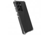 Husa Plastic - TPU UNIQ Combat Antisoc pentru Samsung Galaxy S21 Ultra 5G, CARBON, Neagra