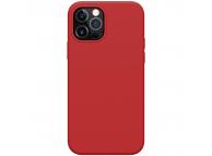 Husa TPU Nillkin Flex Pure Pro Magnetic pentru Apple iPhone 12 / Apple iPhone 12 Pro, Rosie