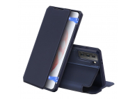 Husa Poliuretan DUX DUCIS Skin X pentru Samsung Galaxy S21 5G, Bleumarin