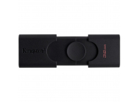 Memorie Externa Kingston DUO, 32Gb, USB 2.0 - USB Type-C OTG, Neagra DTDE/32GB