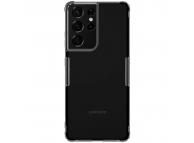 Husa TPU Nillkin Nature pentru Samsung Galaxy S21 Ultra 5G, Gri