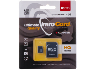 Card Memorie MicroSD Imro, 16Gb, Clasa 4