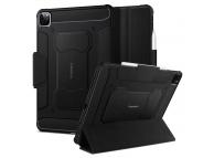 Husa Tableta TPU Spigen Rugged Armor pentru Apple iPad Pro 11 (2020), Neagra ACS01024