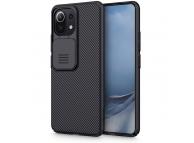 Husa Plastic - TPU Nillkin CamShield pentru Xiaomi Mi 11 Lite / Xiaomi Mi 11 Lite 5G, Cu protectie camera, Neagra