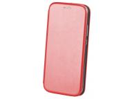 Husa Piele OEM Elegance pentru Samsung Galaxy A02s A025, Rosie