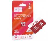 Card Memorie MicroSDHC HOCO, 16Gb, Clasa 10 / UHS-1 U1