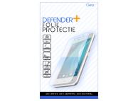 Folie Protectie Ecran Defender+ pentru Samsung Galaxy A02s, Sticla flexibila, Full Face