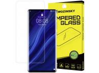 Folie Protectie Ecran WZK pentru Huawei P30 Pro, Plastic, Full Face, 3D, Transparenta