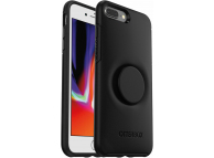 Husa Plastic - TPU OtterBox Symmetry POP pentru Apple iPhone 7 Plus / Apple iPhone 8 Plus, Neagra
