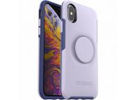 Husa Plastic - TPU OtterBox Symmetry POP pentru Apple iPhone X / Apple iPhone XS, Lila