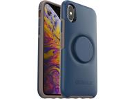 Husa Plastic - TPU OtterBox Symmetry POP pentru Apple iPhone X / Apple iPhone XS, Bleumarin