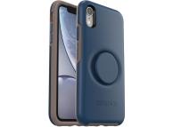 Husa Plastic - TPU OtterBox Symmetry POP pentru Apple iPhone XR, Bleumarin