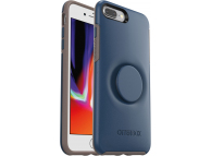 Husa Plastic - TPU OtterBox Symmetry POP pentru Apple iPhone 7 Plus / Apple iPhone 8 Plus, Bleumarin