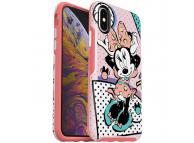 Husa Plastic - TPU OtterBox Symmetry Rad Minnie pentru Apple iPhone X / Apple iPhone XS, Roz