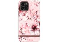 Husa Plastic - TPU Richmond&Finch PinkMarble Floral pentru Apple iPhone 11 Pro Max, Multicolor