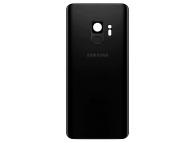 Capac Baterie - Senzor Amprenta Samsung Galaxy S9 G960, Negru, Second Hand