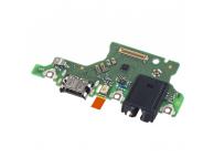 Placa Cu Conector Audio - Conector incarcare - Microfon Huawei P40 lite 5G 02353RUY