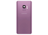 Capac Baterie - Geam Camera Spate - Senzor Amprenta Samsung Galaxy S9 G960, Mov, Second Hand