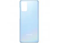 Capac Baterie Samsung Galaxy S20 Plus G985, Bleu, Swap