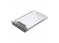 Rack Extern USB Orico, HDD 2.5 inch, SATA, USB Type-C 3.1, Transparent