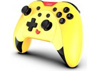 GamePad Bluetooth iPega, Pentru PS3 / Android / PC / NS, Galben PG-SW023B