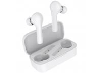 Handsfree Casti Bluetooth QCY T5, SinglePoint, Alb