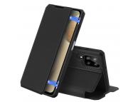 Husa Poliuretan DUX DUCIS Skin X pentru Samsung Galaxy A12 A125 / Samsung Galaxy M12, Neagra