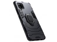 Husa Plastic - TPU OEM Magnetic Ring pentru Samsung Galaxy A42 5G, Neagra