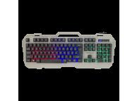 Tastatura USB WHITE SHARK GK-1924 VIKING -2 Metal, Gaming, Argintie