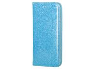 Husa Piele Forcell SHINING Book pentru Samsung Galaxy A02s A025F, Bleu