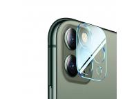 Folie Protectie Camera spate WZK pentru Apple iPhone 12 Pro Max, Sticla securizata, 9H