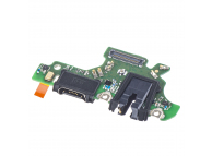 Placa Cu Conector Audio - Conector Incarcare / Date - Microfon Huawei P30 lite 02352PKB