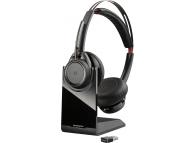 Handsfree Casti Bluetooth Plantronics Voyager FOCUS UC, Negru 202652-102
