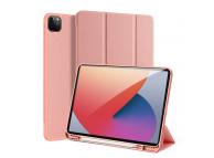 Husa Tableta Piele - Poliuretan DUX DUCIS Domo pentru Apple iPad Pro 12.9 (2021), Roz