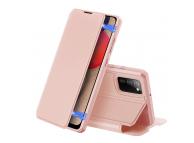 Husa Piele DUX DUCIS Skin X pentru Samsung Galaxy A02s A025F, Roz