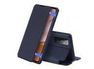 Husa Piele DUX DUCIS Skin X pentru Samsung Galaxy A72 4G, Bleumarin