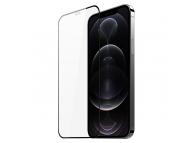 Folie Protectie Ecran DUX DUCIS pentru Apple iPhone 12 / Apple iPhone 12 Pro, Sticla securizata, Full Face, Full Glue, 10D, Neagra