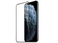 Folie Protectie Ecran HOCO Silk pentru Apple iPhone 11 Pro, Sticla securizata, Full Face, 0.33mm, HD, Set 10 buc