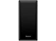 Baterie Externa Powerbank Baseus Mini JA, 30000 mA, Power Delivery (PD) - Standard Charge (5V), 3A, Neagra PPJAN-C01
