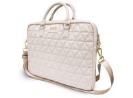 Geanta Laptop Guess Quilted, 15 inci, Roz GUCB15QLPK