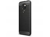 Husa TPU OEM Carbon pentru Motorola Moto G9 Play, Neagra