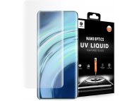 Folie Protectie Ecran Mocolo pentru Xiaomi Mi 11 Ultra, Sticla securizata, Full Face, Full Glue, 3D, UV