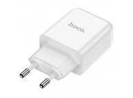 Incarcator Retea USB HOCO N2, 2A, 1 X USB, Alb