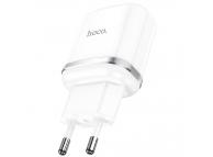 Incarcator Retea USB HOCO N3, Quick Charge, 18W, 1 X USB, Alb