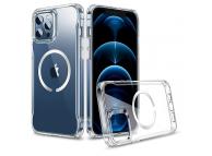 Husa TPU ESR CH HALOLOCK MAGSAFE pentru Apple iPhone 12 Pro Max, Transparenta
