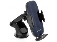 Incarcator Auto Wireless OEM HS2, Quick Charge, 15W, Conectori Magnetici, IR, Negru