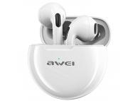 Handsfree Casti Bluetooth Awei T17, SinglePoint, Alb